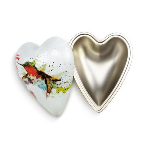 Hummingbird Art Heart Keeper