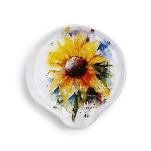 Dean Crouder Sunflower Spoon Rest