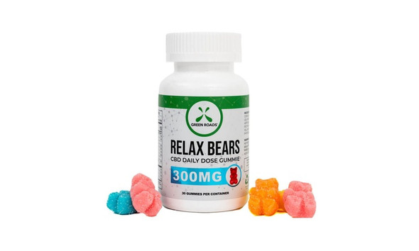 Relax Bears CBD Daily Dose Gummy Bears 30 Day Supply