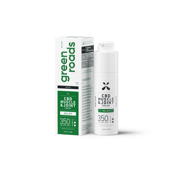 CBD Muscle and Joint Cream 350mg By Green Roads