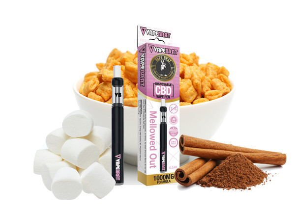 VapeBrat Disposable Pen: Mellowed Out: 1000mg