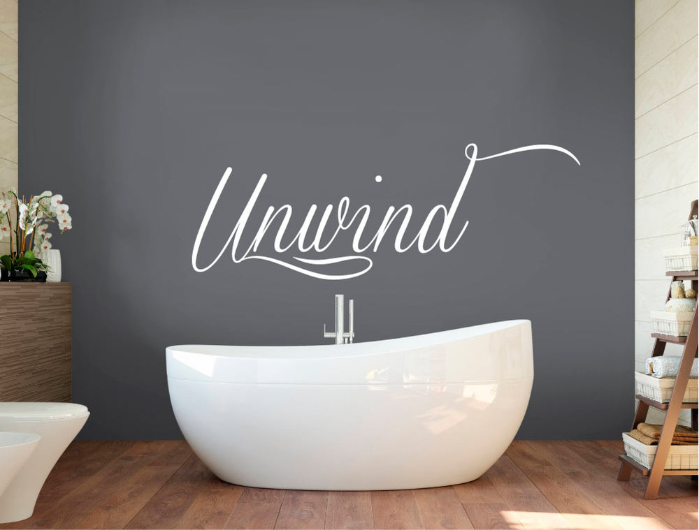 unwind-wall-sticker-white