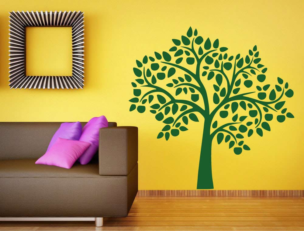 wall-sticker-tree-green