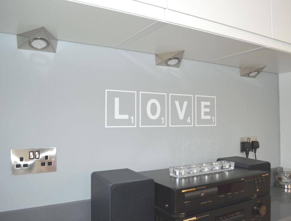 love scrabble letters multiple sizes