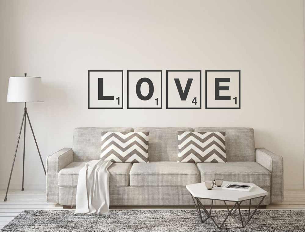 love-stickers-black