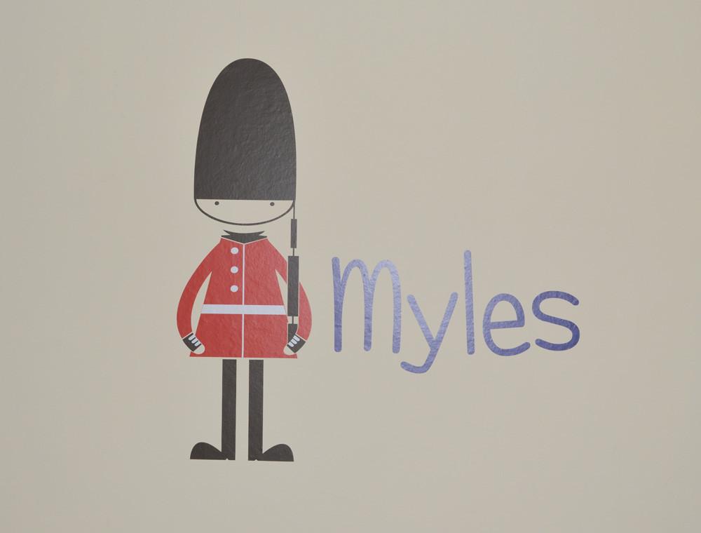 soldier wall sticker myles