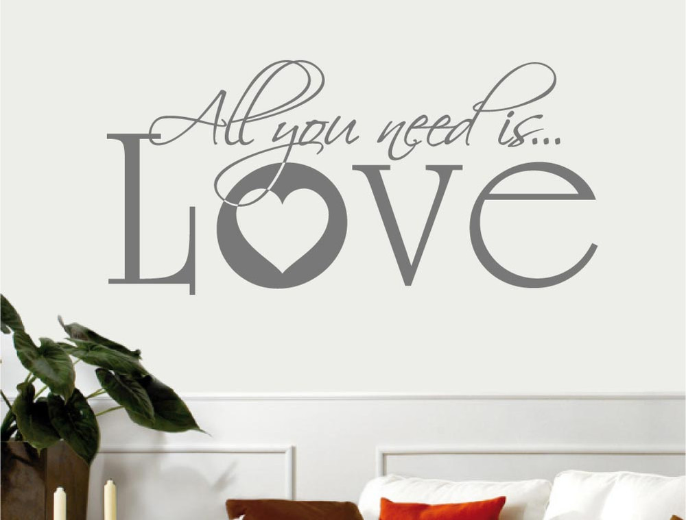 all-you-need-is-love-wall-sticker-grey