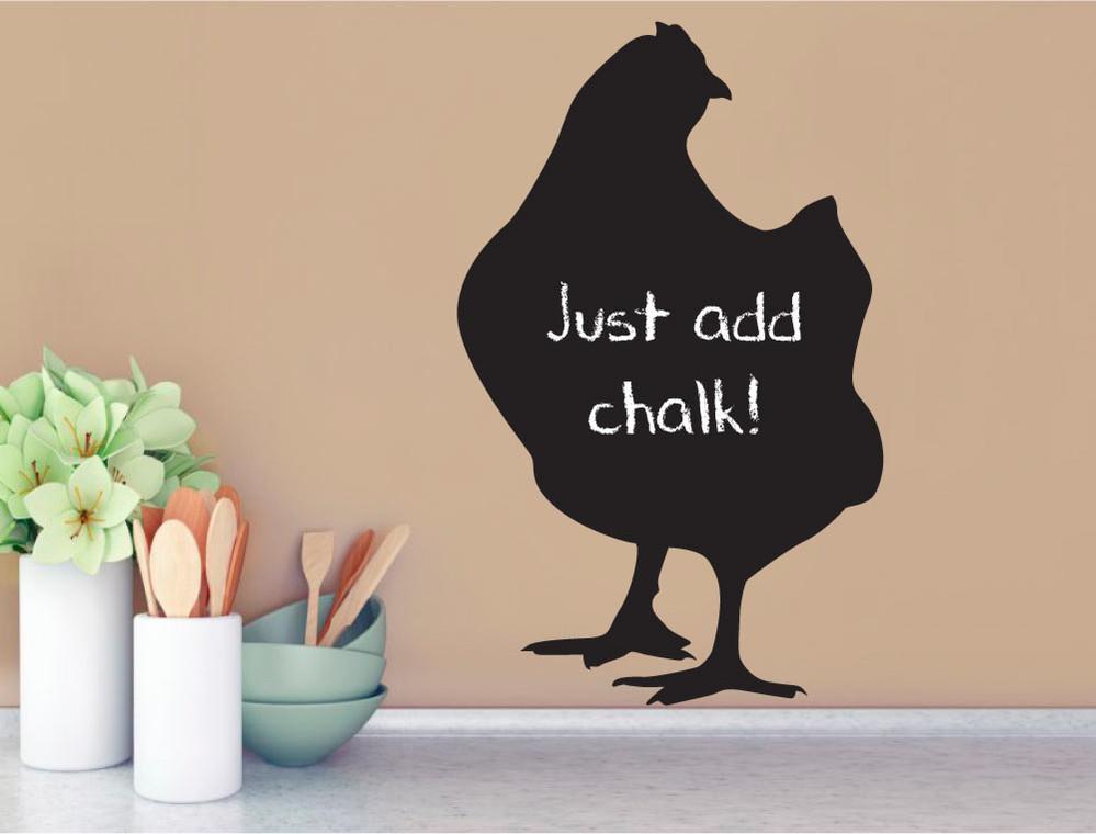chicken-blackboard-wall-sticker