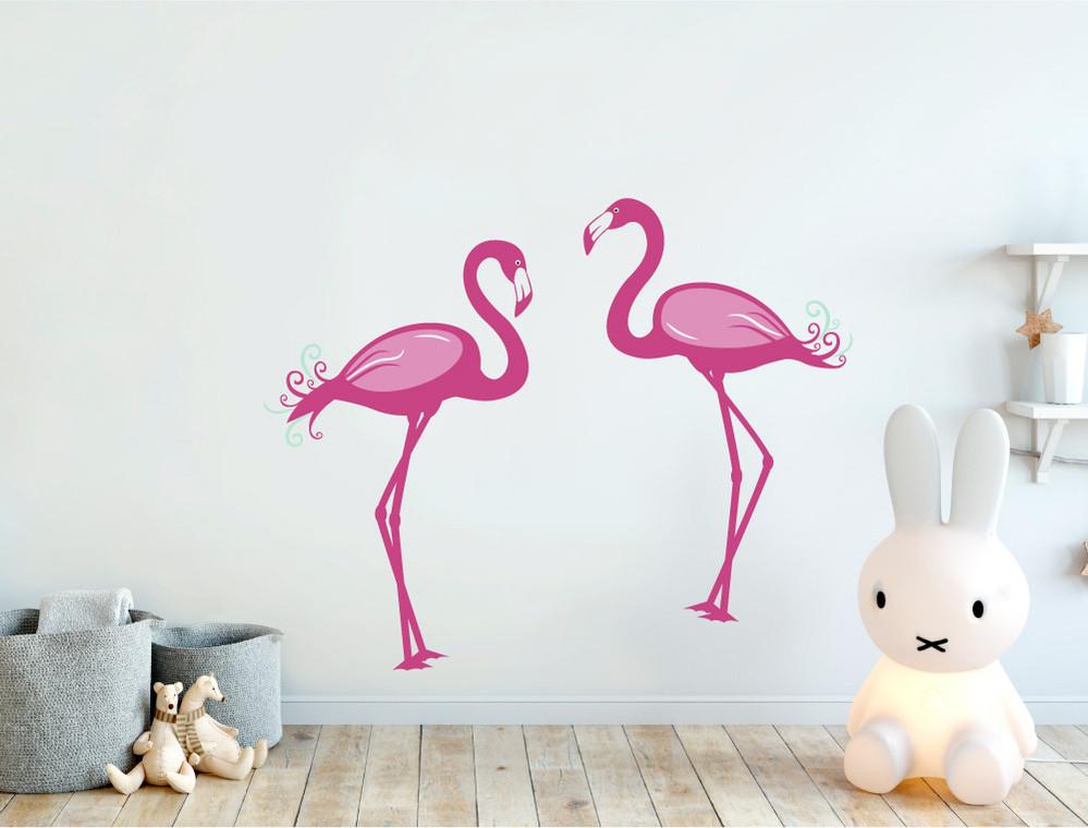 flamingo wall stickers