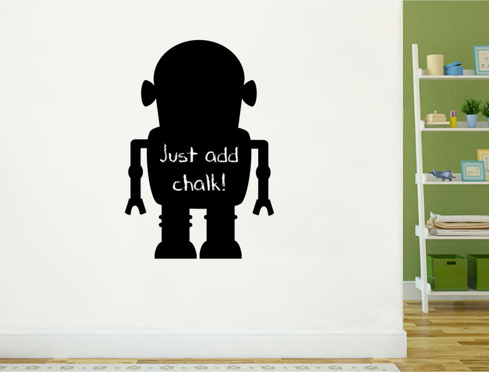 chalkboard-robot-wall-sticker