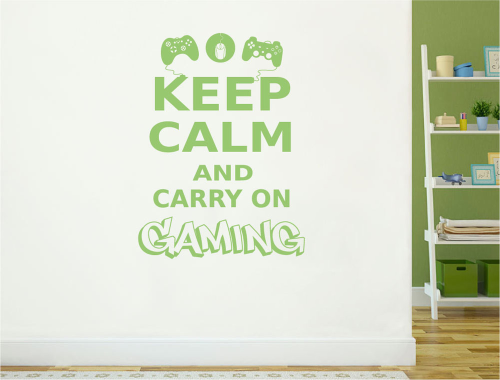 gaming-wall-decals-green