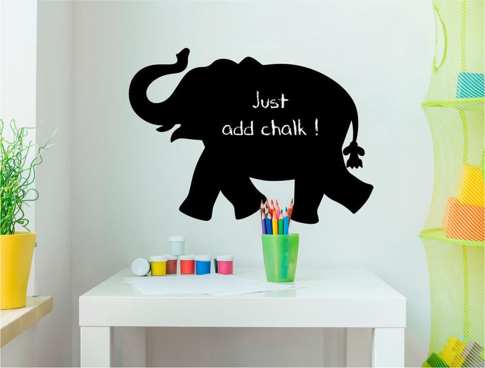 chalkboard-elephant-wall-sticker