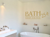 bath wall sticker