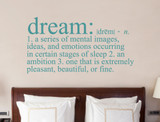 dream meaning wall sticker