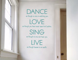 dance-love-sing-live-wall-sticker