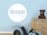 dream big wall sticker
