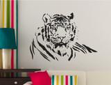 tiger wall sticker wildlife art