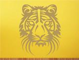 tiger head wall decor sticker