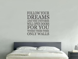 inspirational wall quotes sticker black