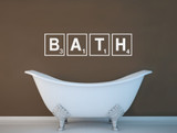 bath wall sticker multiple sizes