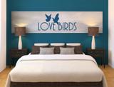 love birds wall sticker multiple sizes