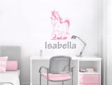 personalised-unicorn-bedroom-sticker