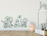childrens woodland wall sticker