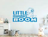 little monsters room wall sticker