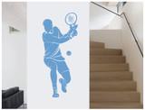tennis-wall-sticker-blue