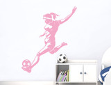 female-footballer-wall-decal