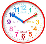 ACCTIM Wickford Red Kids Wall Clock 22524
