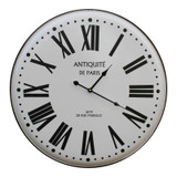 French Vintage Style Wall Clock