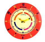 CHAMPION TIME TEACHER RED WALL CLOCK - CTT369