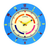 CHAMPION TIME TEACHER BLUE WALL CLOCK - CTT369