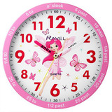 Ravel Time Teacher Pink Fairy Wall Clock - R.KC.05