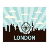 London-Skyline-Metal-Wall-Sign