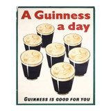 A-Guinness-A-Day-is-good-for-you-Metal-Advertising-Sign