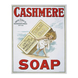 Cashmere-Soap-Metal-Advertising-Wall-Sign