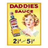 Daddies-Sauce-Metal-Advertising-Wall-Sign
