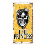 The-Princess-Metal-Skull-Wall-Sign