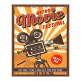 Movie-Festival-Retro-Metal-Sign