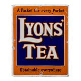 Vintage-Lyons-Tea-Metal-Advertising-Wall-Sign