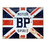 Vintage-Motor-BP-Spirit-Metal-Advertising-Sign