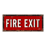 Vintage-Metal-Fire-Exit-Wall-Sign