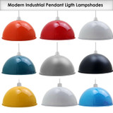 Retro Easy Fit Metal Dome Lampshades - 40cm