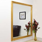 Buxton Gold Extra Large Leaner Mirror 201 x 140 CM