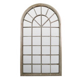 Somerley Country Arch Large Garden Mirror 129 x 76 CM
