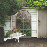 Somerley Country Arch Large Garden Mirror 160 x 91 CM