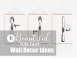 11 Beautiful Kitchen Wall Decor Ideas
