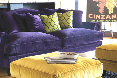 What Colours Go With Purple ? (And using them in your home)